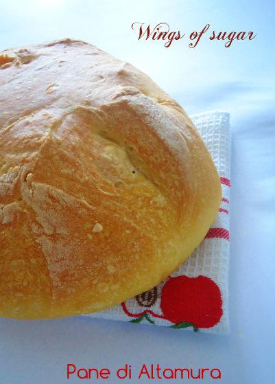 pane di altamura - wings of sugar