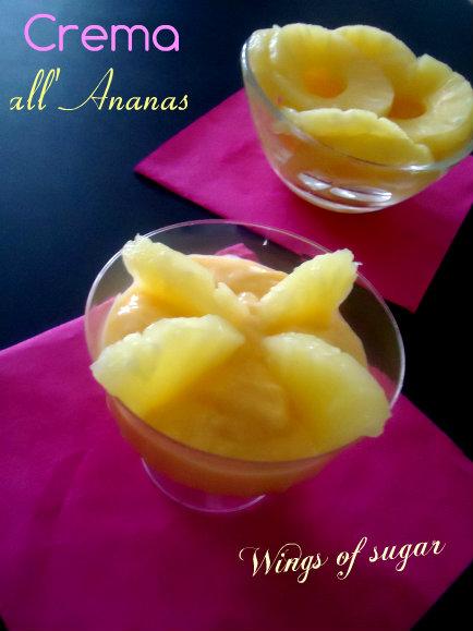 crema all'ananas - wings of sugar blog