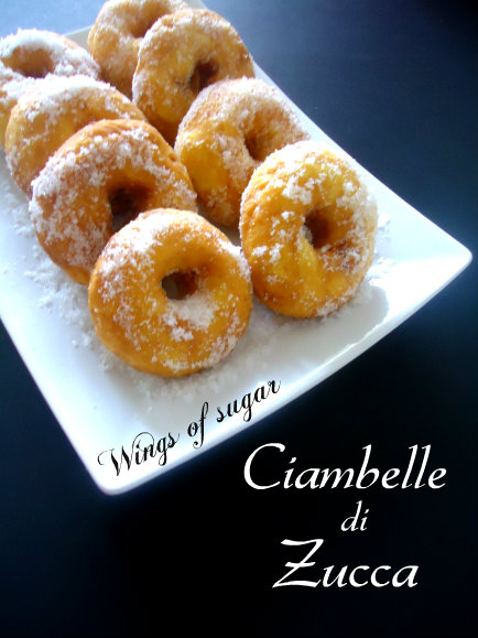 1- ciambelle di zucca- wings of sugar blog