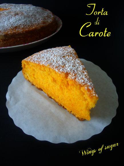 Torta di carote - wings of sugar blog