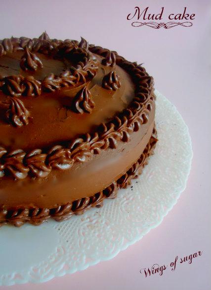 mud cake - wings of sugar blog