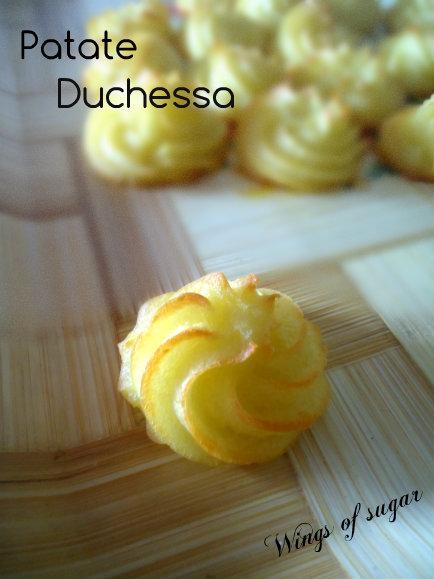 Patate duchessa - wings of sugar blog