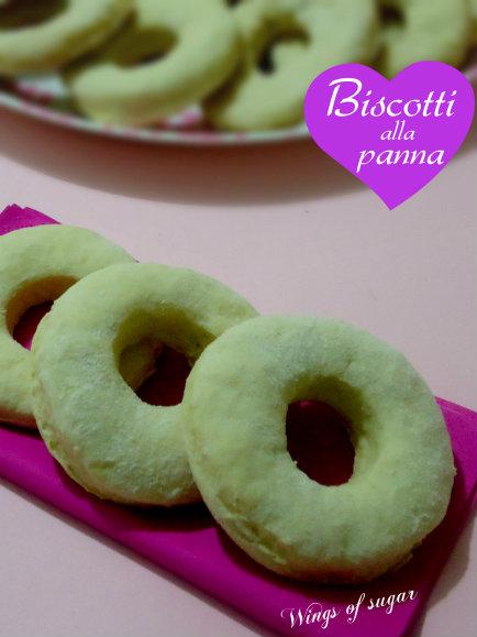 Biscotti alla panna ricetta semplice