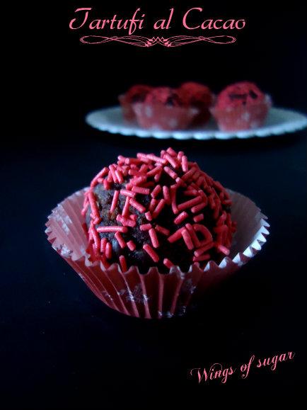 Tartufi al cacao semplici - wings of sugar blog