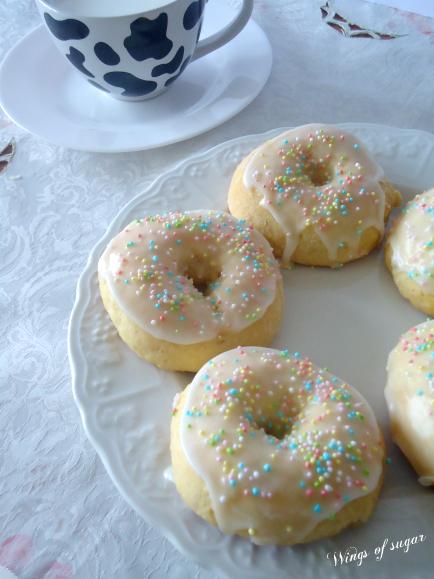 Ciambelle al forno - wings of sugar blog