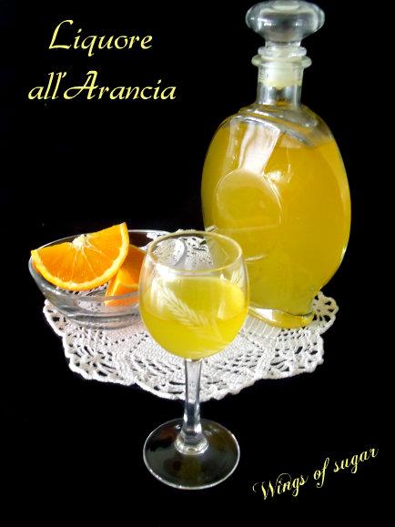 liquore all'arancia - wings of sugar blog
