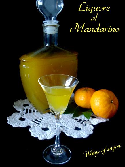 Liquore al mandarino ricetta - wings of sugar blog