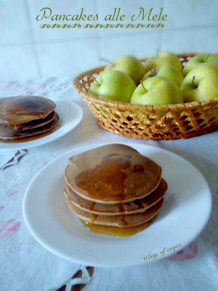 Pancakes di mele alla cannella ricetta semplice