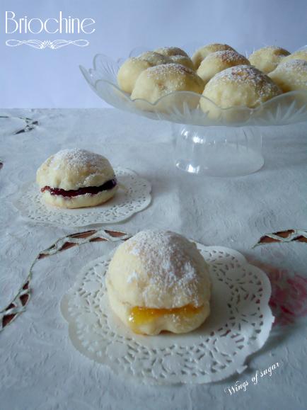Briochine soffici - Wings of sugar Blog