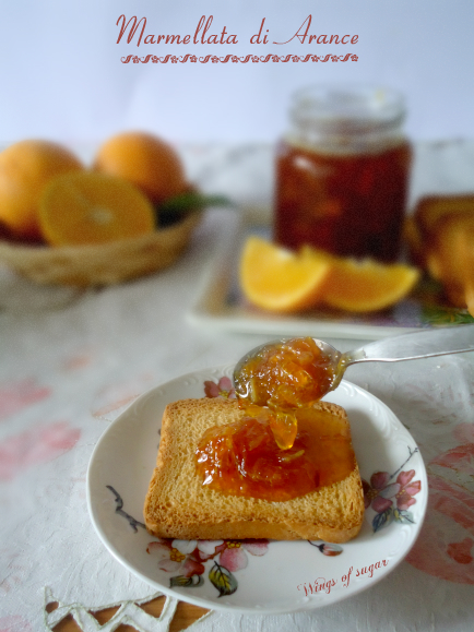marmellata di arance - wngs of sugar blog