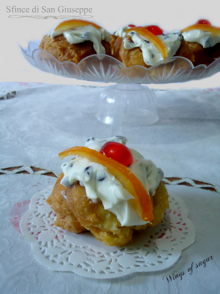 sfince di san giuseppe - wings of sugar blog
