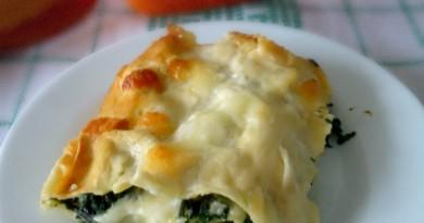 Lasagne di spinaci con besciamella e mozzarella-wings of sugar blog