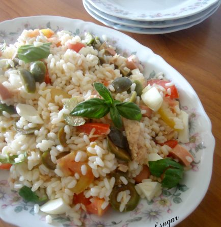 Insalata di riso fantasia- wings of sugar blog