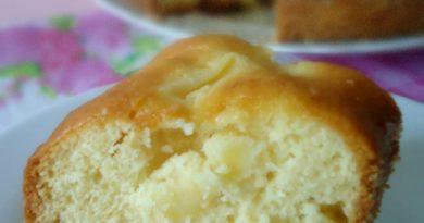 Ciambella all'ananas soffice e umida ricetta