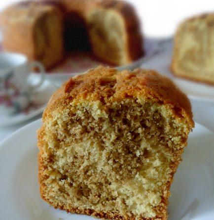 Ciambella vaniglia e caffè ricetta - wings of sugar blog
