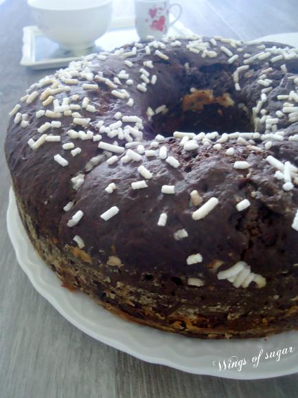 Pan brioche al cacao con pezzetti d cioccolato fondente - wings of sugar blog.