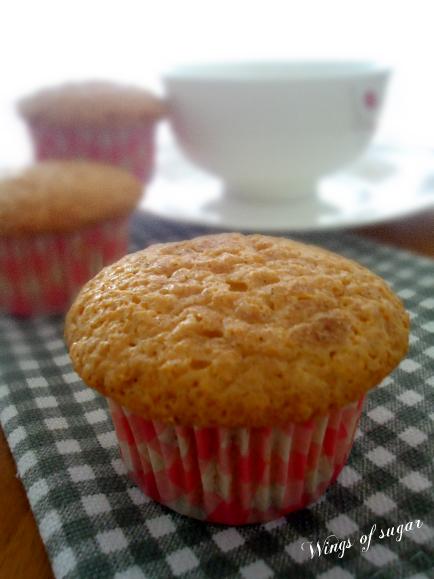Muffin di zucca ricetta semplice - wings of sugar blog