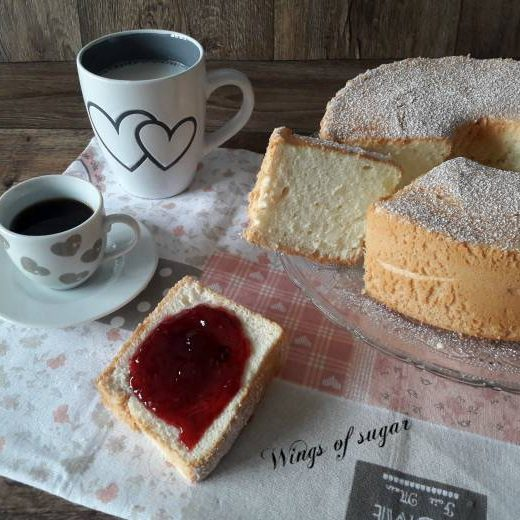 Angel cake ricetta classica Wings of sugar blog