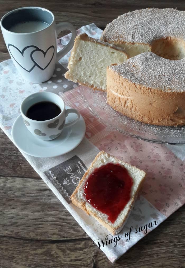 Angel cake ricetta classica - Wings of sugar blog