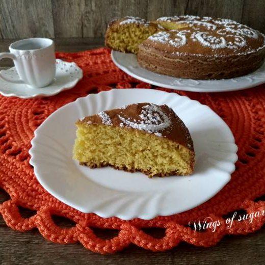 Torta di zucca ricetta con zucca cruda- wings of sugar blog