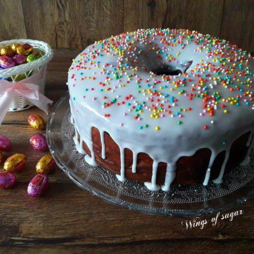 Casatiello dolce di Pasqua ricetta napoletana ; Wings of sugar blog