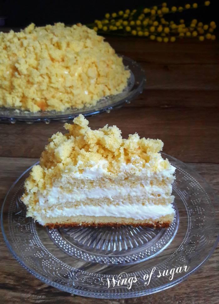 Torta mimosa ricetta classica - Wings of sugar blog