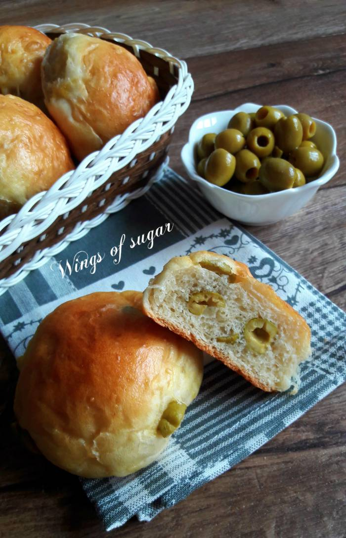 Panini alle olive ; Wings of sugar blog