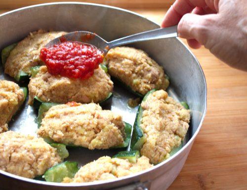 Zucchine ripiene di tonno- di nonna Maria