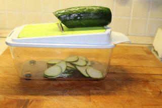 zucchine affettate