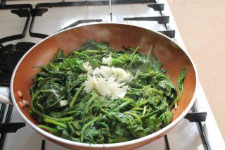 frittata ricotta e spinaci