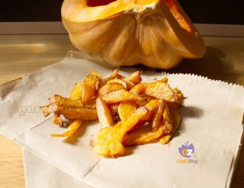 Zucca gialla fritta
