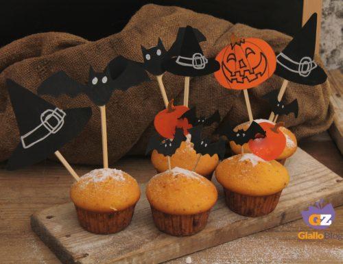 Muffin di zucca Halloween