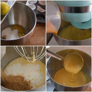muffin con zucca e amaretti