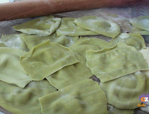 Lasagne verdi con pasta maker