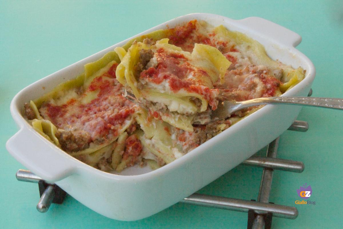 lasagne verdi agli spinaci