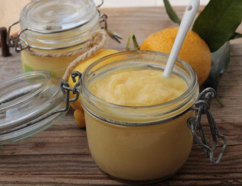 Lemon curd- crema al limone- (ricetta tradizionale e bimby)