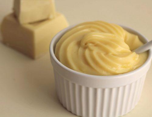 Crema al cioccolato bianco ricetta Bimby