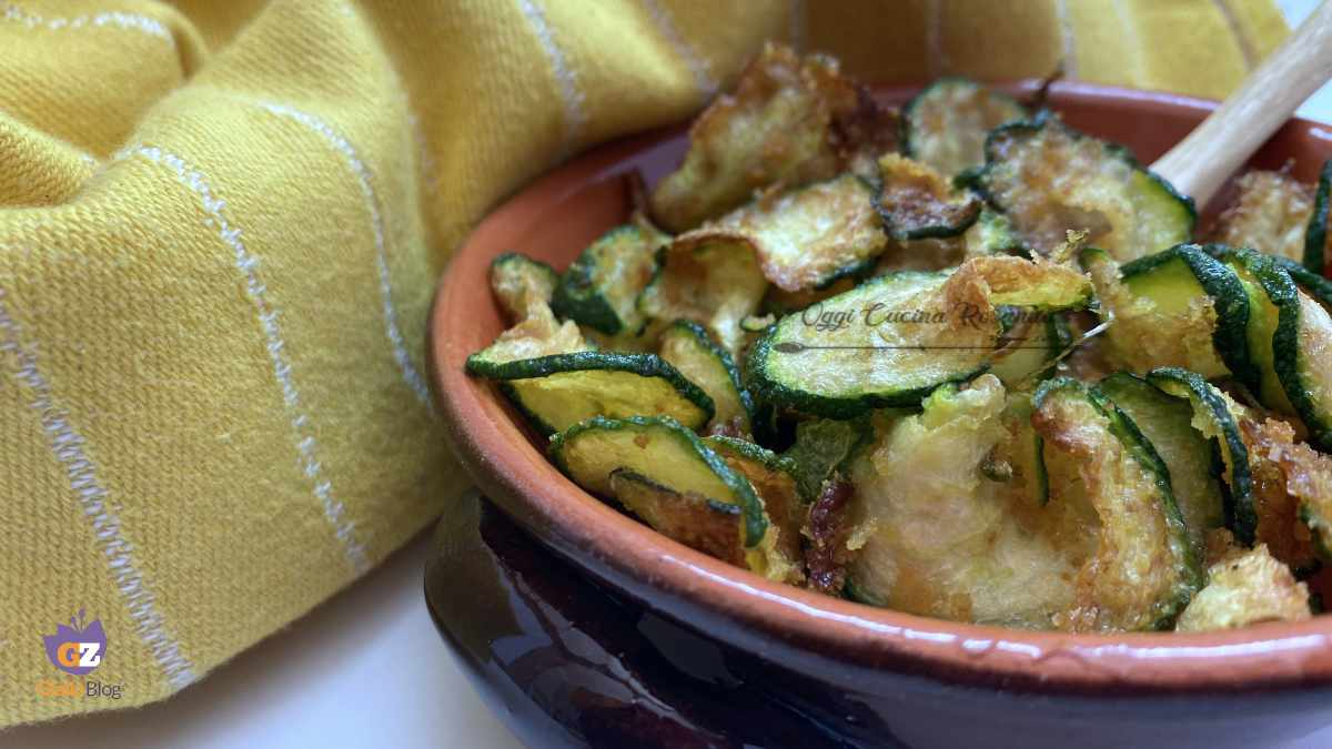 zucchine fritte chips