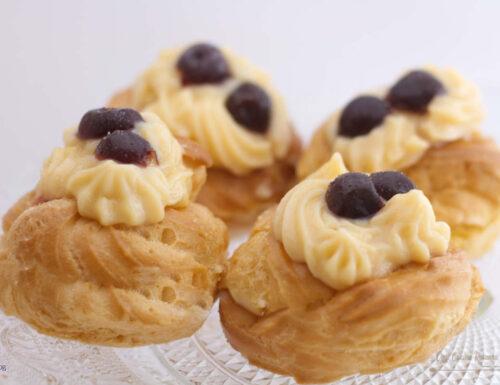 Zeppole di San Giuseppe -ricetta tradizionale e Bimby-