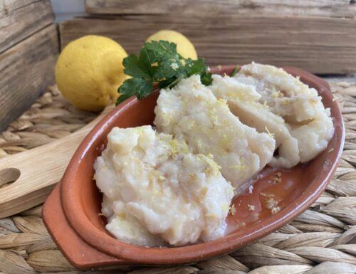 Merluzzo in salsa al limone