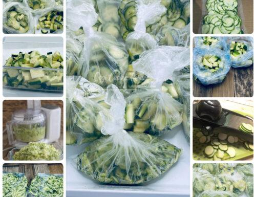 Come conservare le zucchine per l'inverno idee e consigli