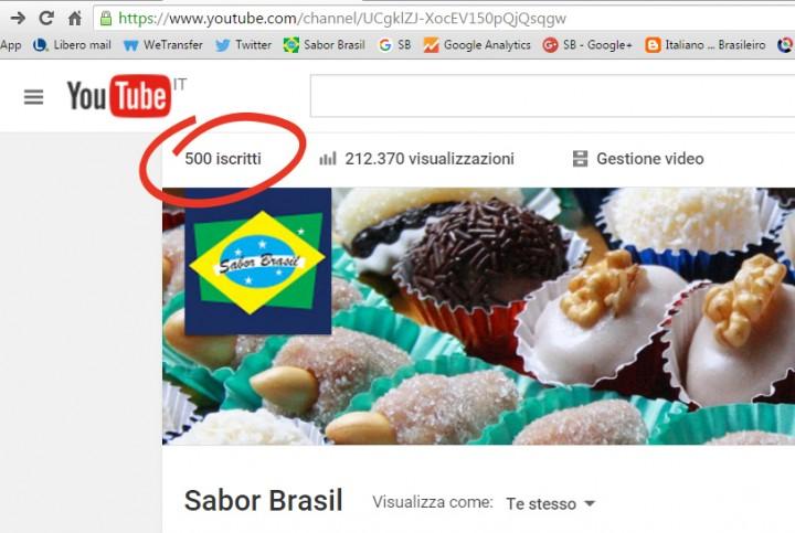 500 iscritti su youtube2