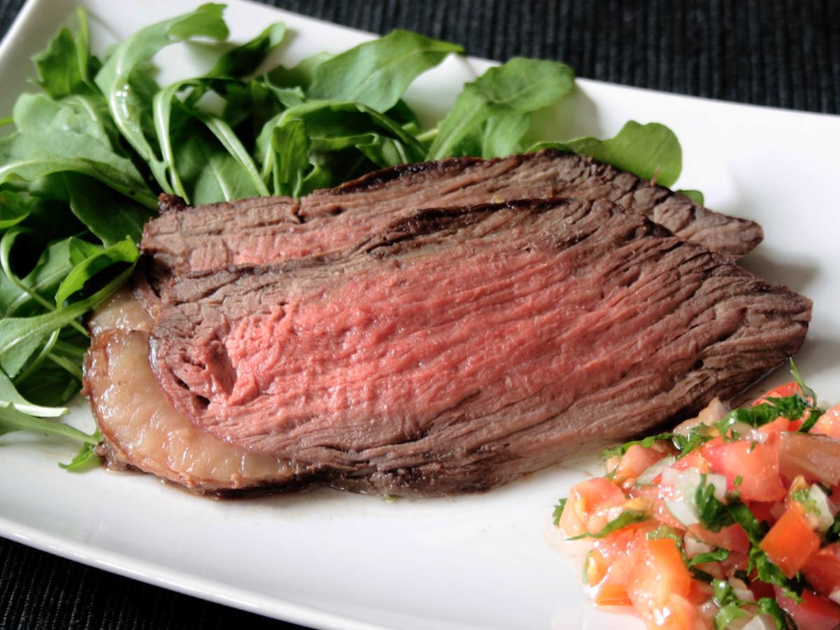 Rosbife de picanha (Roast beef di