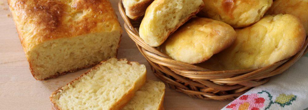 Pane di manioca (Pão de mandioca)