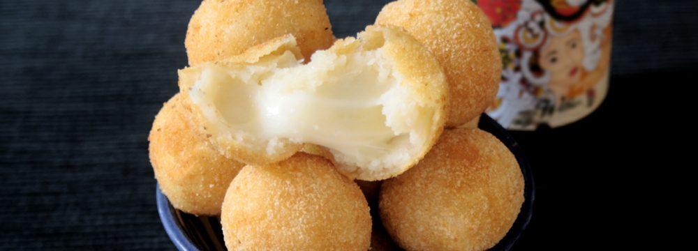 Palline al formaggio (Bolinhas de queijo)