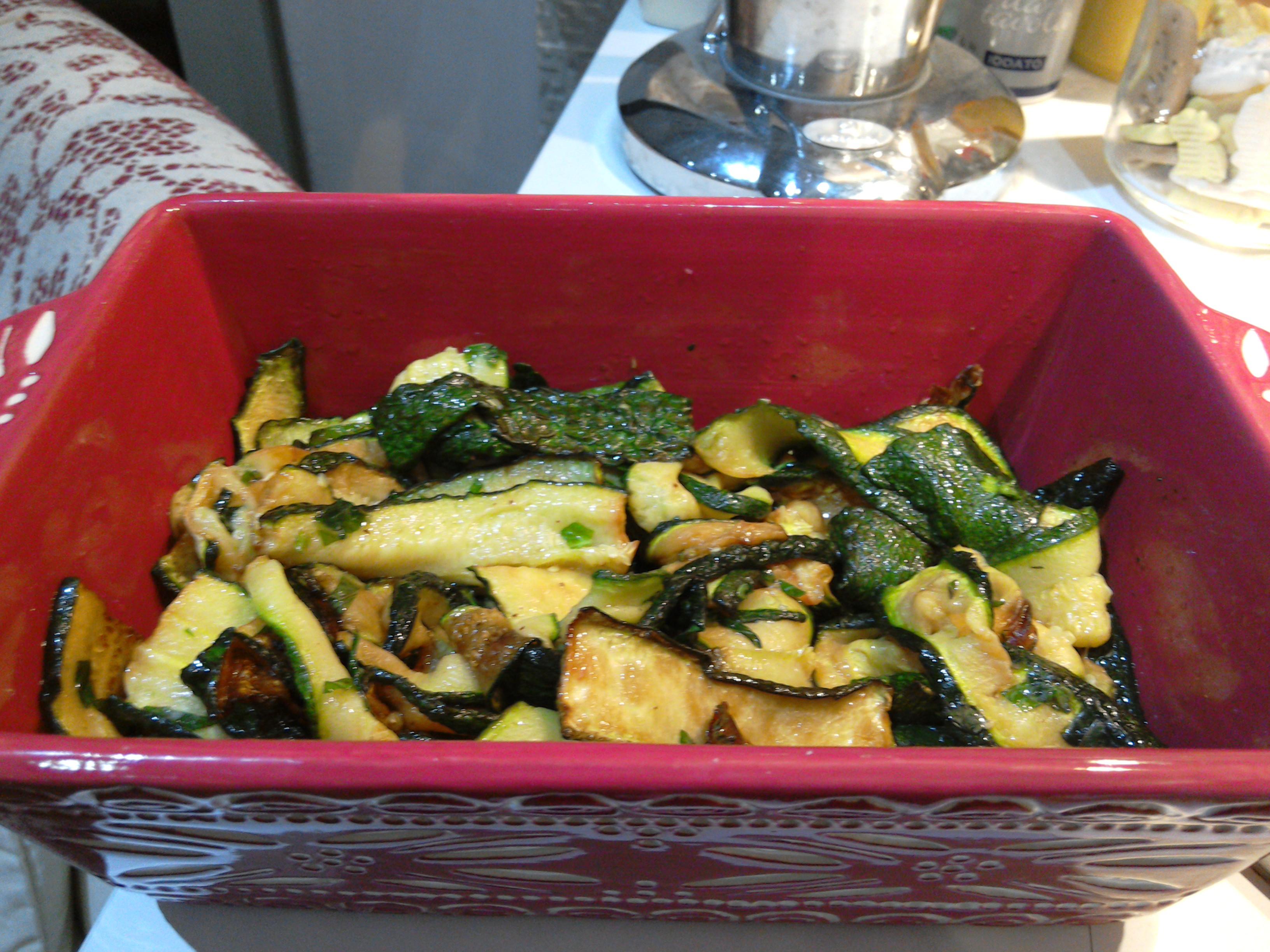 Zucchine alla concia dalla tradizione giudaico for Cucina giudaico romanesca
