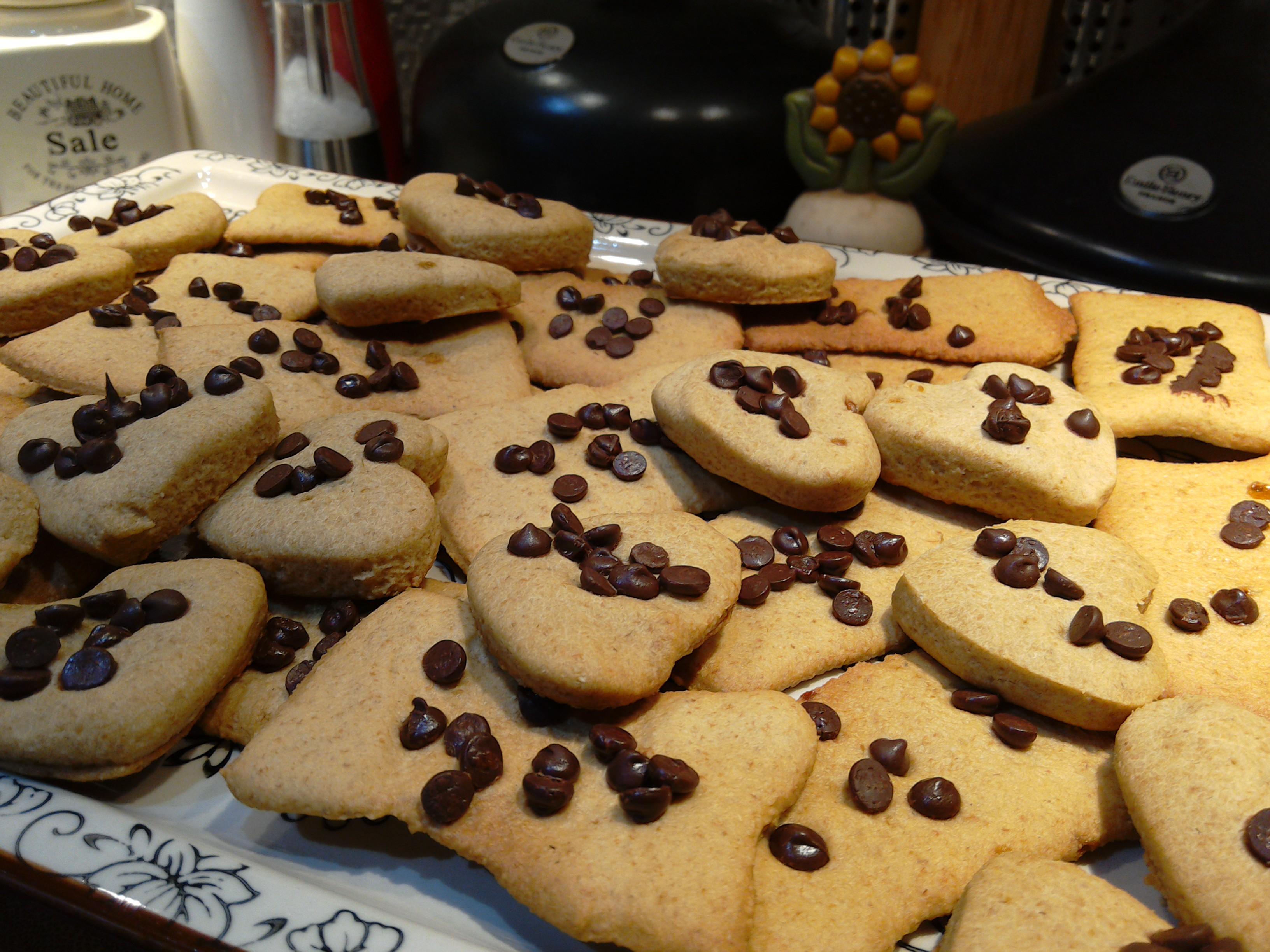 Bisco riso-farro (biscotti senza burro e lievito)