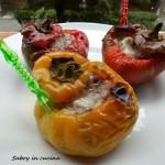 peperoni ripieni salsiccia asiago