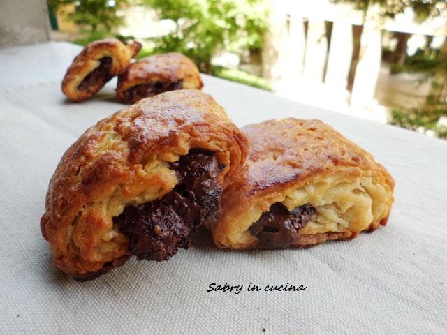 pain au chocolate lievito madre