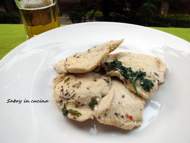petto di pollo marinato alla birra